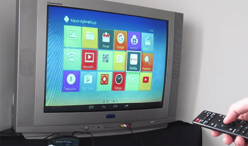 Transformar TV tubo em SmartTV