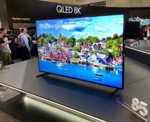 TVs Samsung 8K